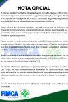 Nota Oficial FIMCA Vilhena sobre programação das aulas