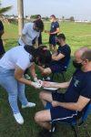 Acadêmicos da FIMCA Vilhena promovem dia do bem-estar no 3º Batalhão da...