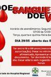 Alunos do 5 Período de Enfermagem promovem campanha para doação de sangue