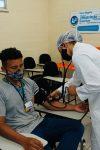 Acadêmicos de E. Física, Enfermagem e Fisioterapia realizam atividades de...